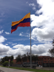 Colombian flag.