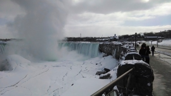 Niagara Falls, winter