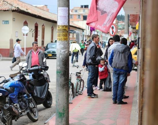 Colombian street scene