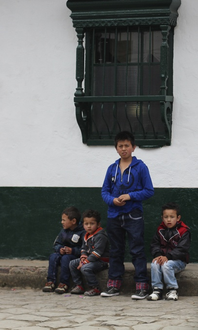 Colombian children