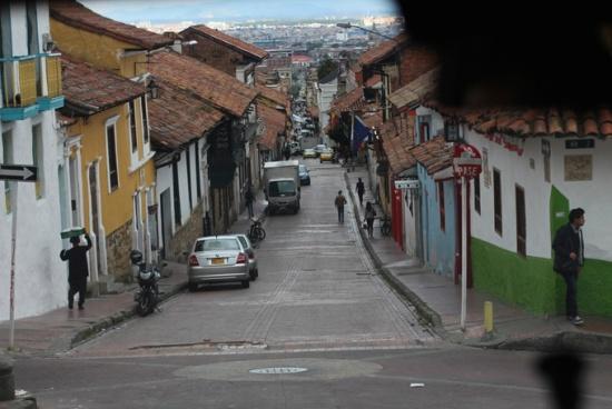 Street, La Candelaria, Bogota, Colombia