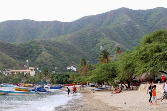 Beach, Santa Marta, Colombia