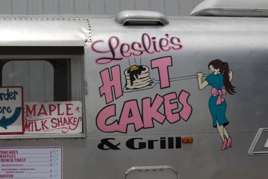 Leslie's Hot Cakes truck