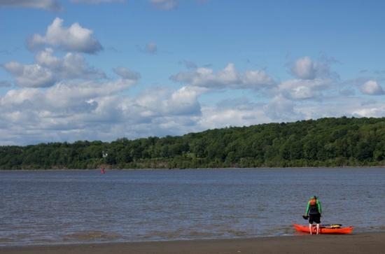 Kayaker, Saugerties, NY
