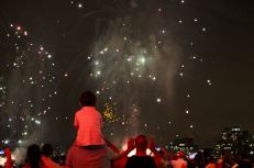 Macy's fireworks, 2015.