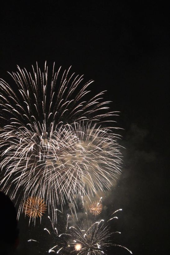 Macy's fireworks finale, 2015.