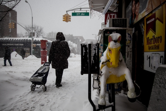 Queens, New York, Winter Storm Jonas