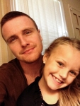 Corey and his niece, Rilynn